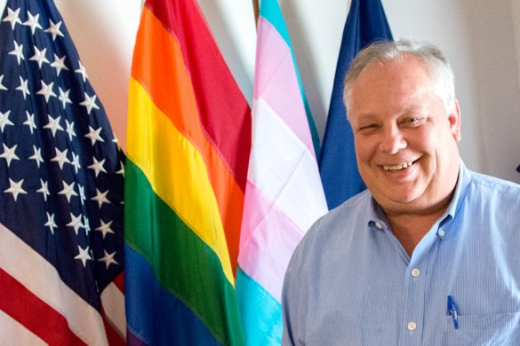 The Executive Director for Equality Kansas, Thomas Witt, used to work in IT before getting involved with legal equality in Kansas, he said in a June interview with News21. (Andrew Clark/News21)
