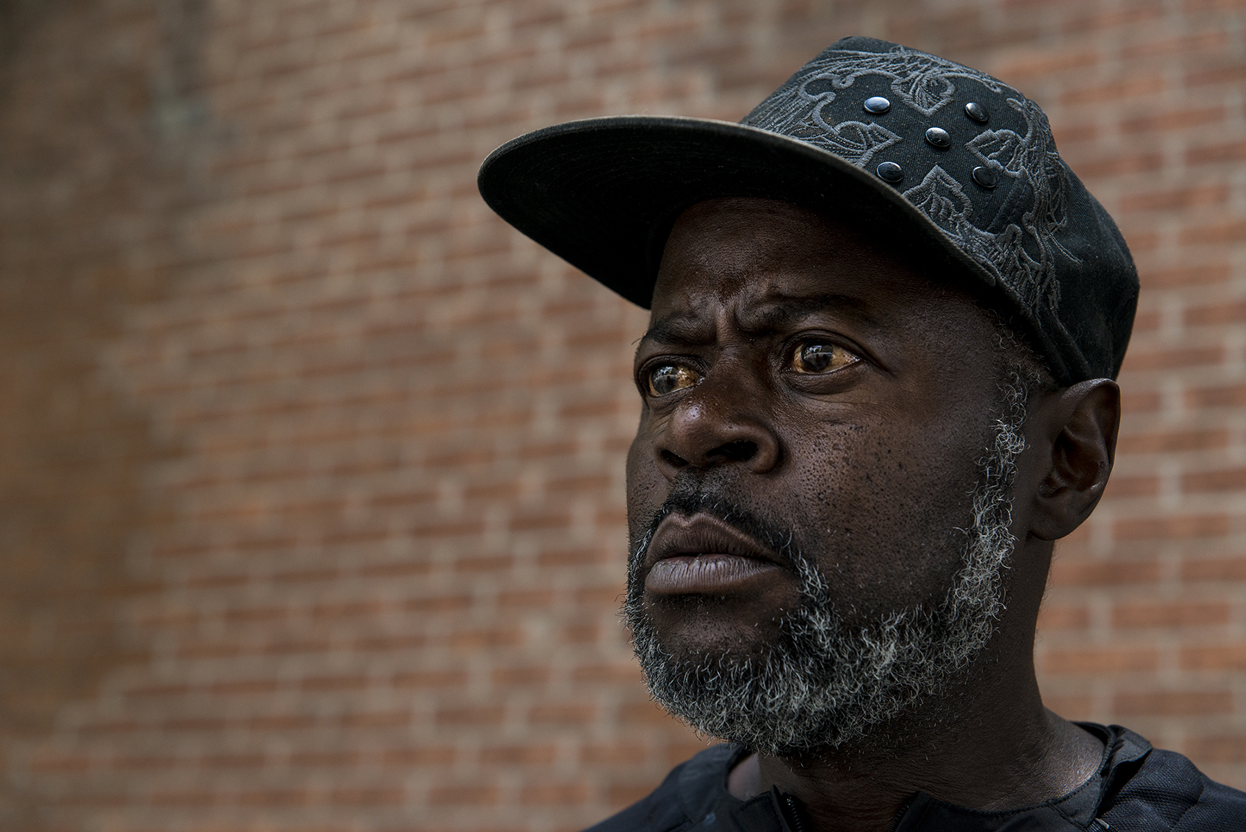 Duane Ronald Neal, 57, is a resident of the West End, a low-income neighborhood in downtown Cincinnati. He said shootings in the community have left voters disillusioned, especially among African-Americans. (Roman Knertser/News21)