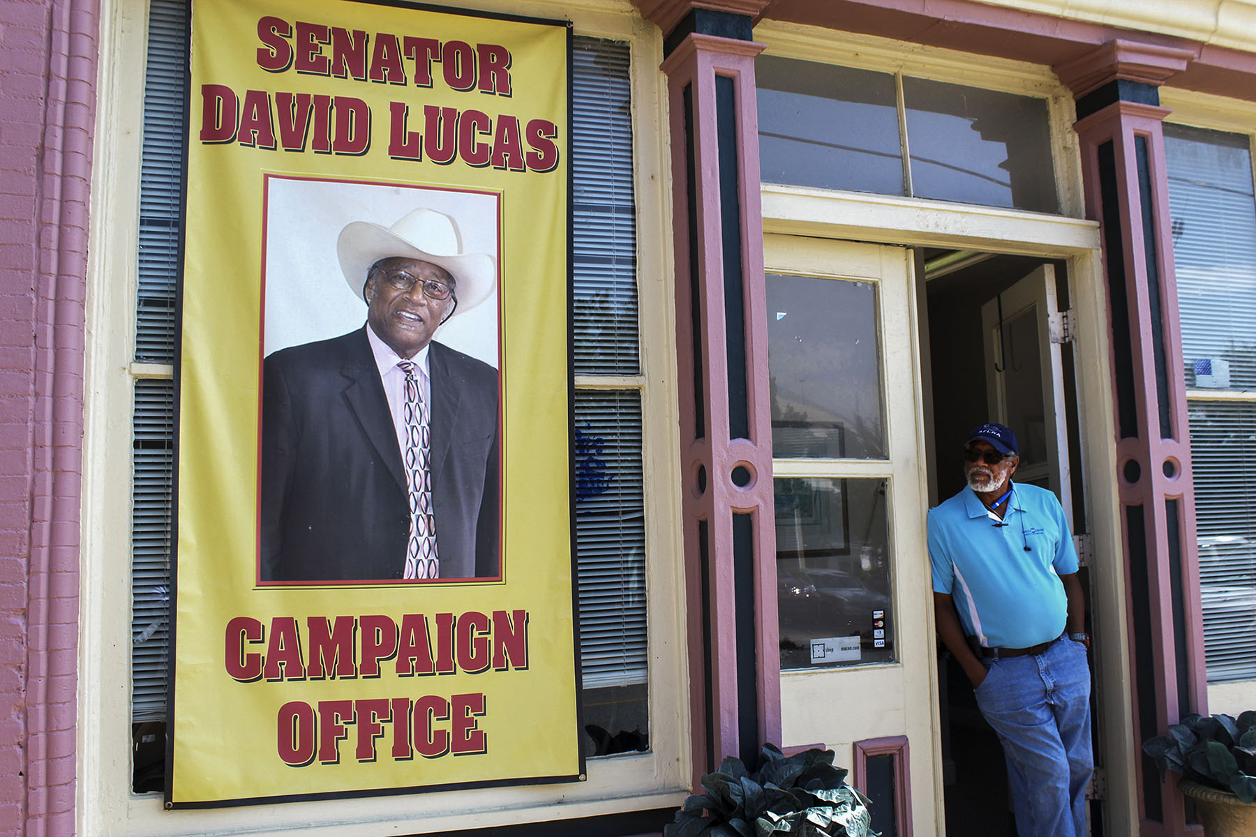 David Lucas has served the East Macon area as a state senator since 2012. In his childhood, he said he had a near-death experience that inspired him to pursue a political career. (Photo and audio by Phillip Jackson/News21)