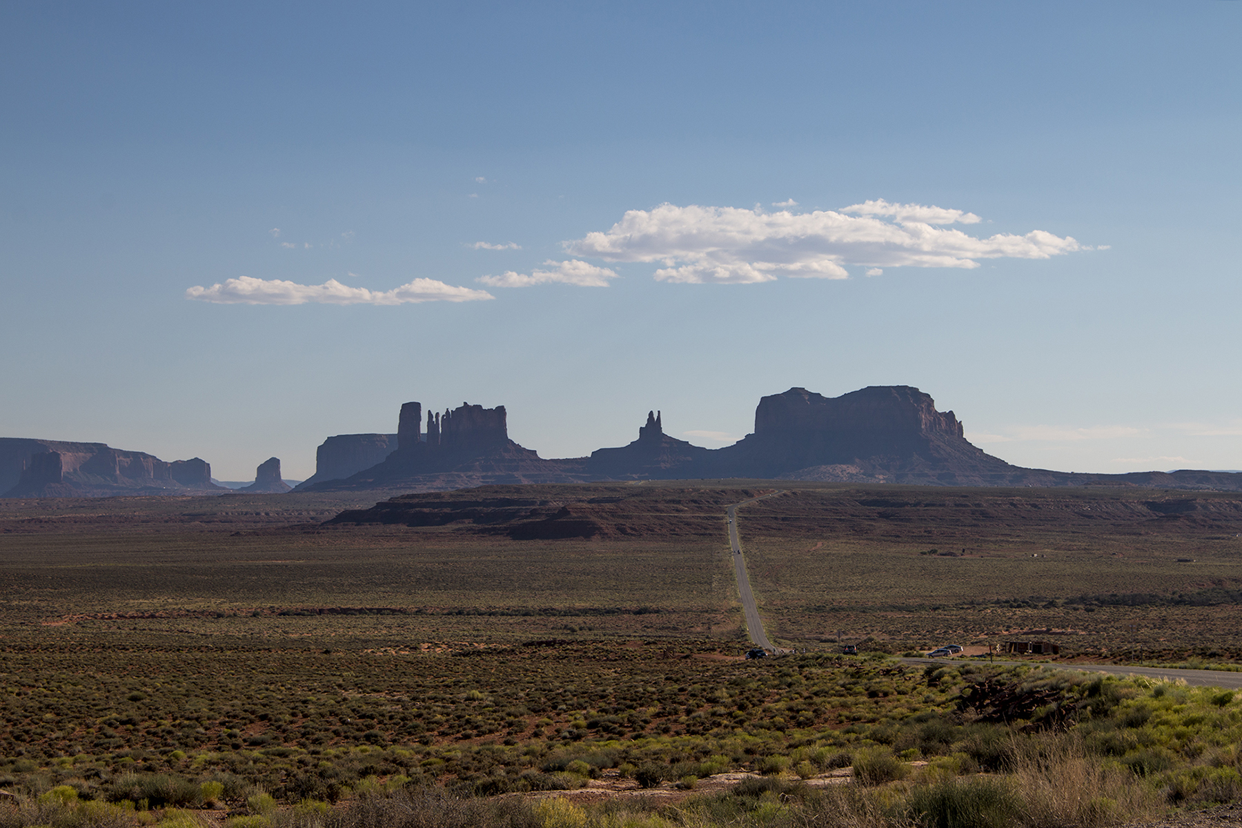 Nearly 200 miles separate Navajo Mountain from Monticello in San Juan County, Utah. The trip requires drivers to first travel south into Arizona before traveling north to the county seat. In between the two destinations rests Monument Valley Navajo Tribal Park. (Erin Vogel-Fox/News21)