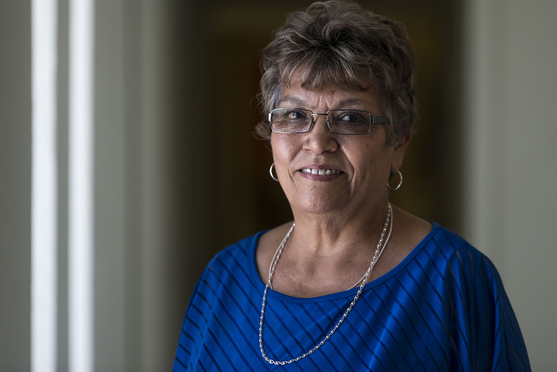 Gloria Torres serves as a city councilwoman and school board member in the border town of San Luis, Arizona. (Photo by Roman Knertser, audio by Pam Ortega/News21)