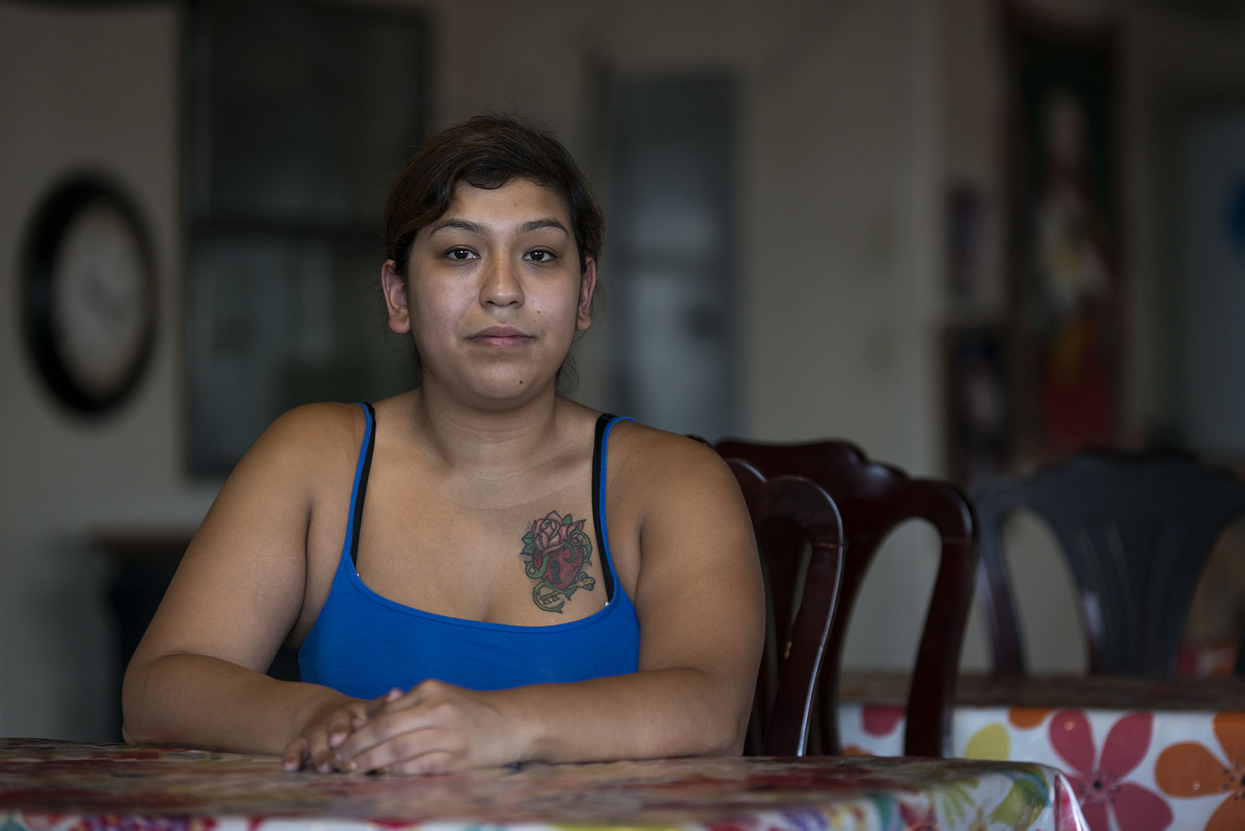 Alejandra Campos, 23, a native of Somerton, Arizona, has never registered to vote. Campos does not believe in the political system. She says politicians only make promises. (Photo by Roman Knertser, audio by Pam Ortega/News21)